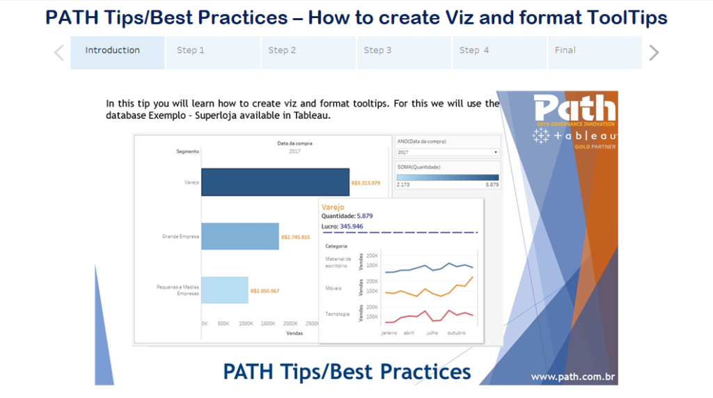 PATH Tips/Best Practices – How to create Viz and format ToolTips
