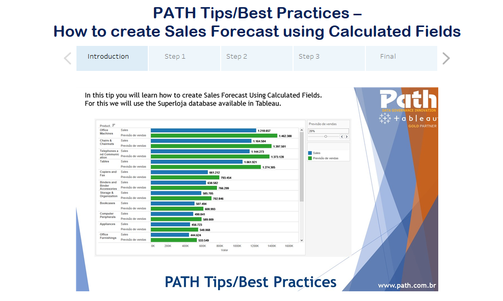 PATH Tips/Best Practices –  How to create Sales Forecast using Calculated Fields